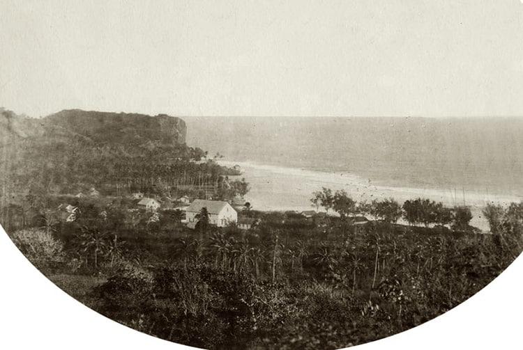 Village royal, Rurutu 17 mars 1889