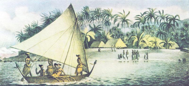 L'île Krusenstern, aujourd'hui Tikehau -Expédition de Louis Choris en 1816