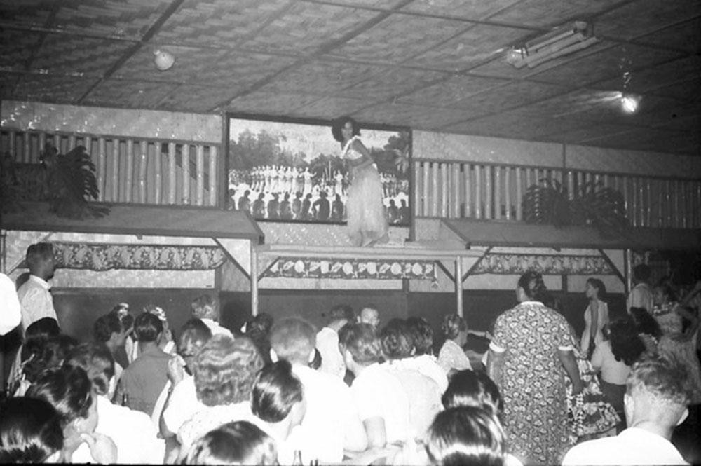 La scène du Quinn's en 1955