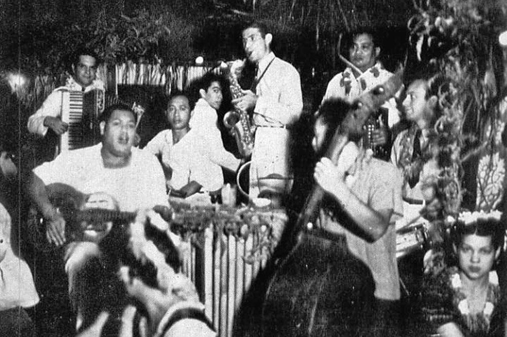 L'orchestre du Quinn's en 1955. Photo Pierre Carabasse