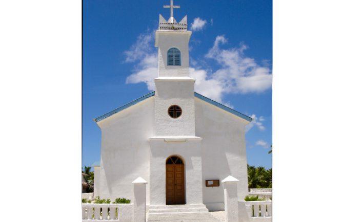 Eglise de Tatakoto, Tuamotu