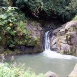 Vaiumete, la vasque et le toboggan naturel de Papeari