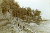 Pont, cote Nord de Tahiti en 1896. Photo Arthur Baessler. Coll. eMuseumPlus