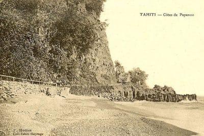 Cote de Papenoo, 1900. Franck Homes