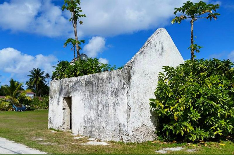 Ancienne prison de Takapoto en 2015. Photo Chantal Alexandre Tahiti iti