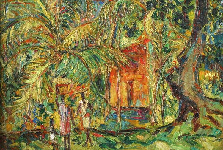 Tahiti, par René Grandidier, 1953