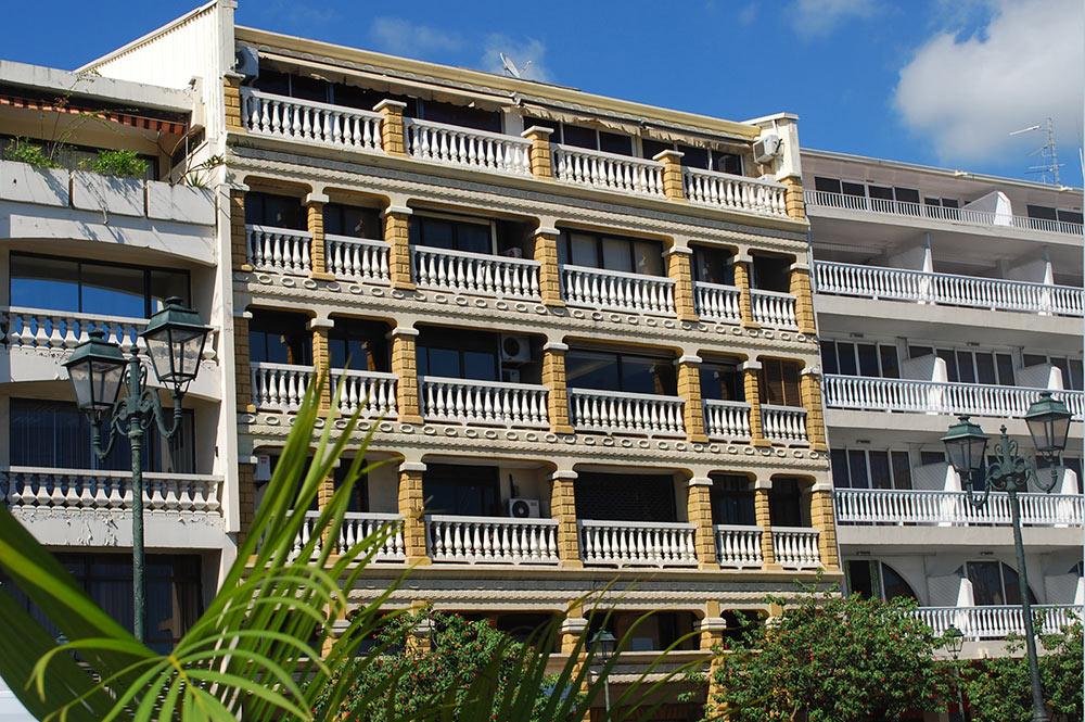 L'ex hôtel Stuart de Papeete actuellement