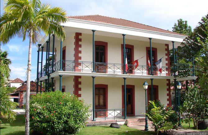 Maison du pharmacien de l'hopital Vaiami à Papeete. © Tahiti Heritage
