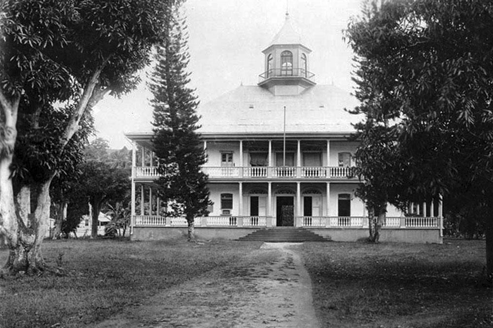 Palais royal de Papeete