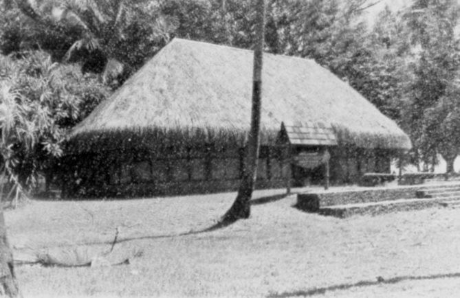 Ancien musée de la découverte de la pointe Vénus à Mahina