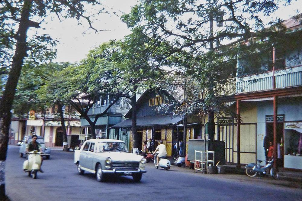 Le Quinn's Tahitian Hut, dancing à Papeete en 1970