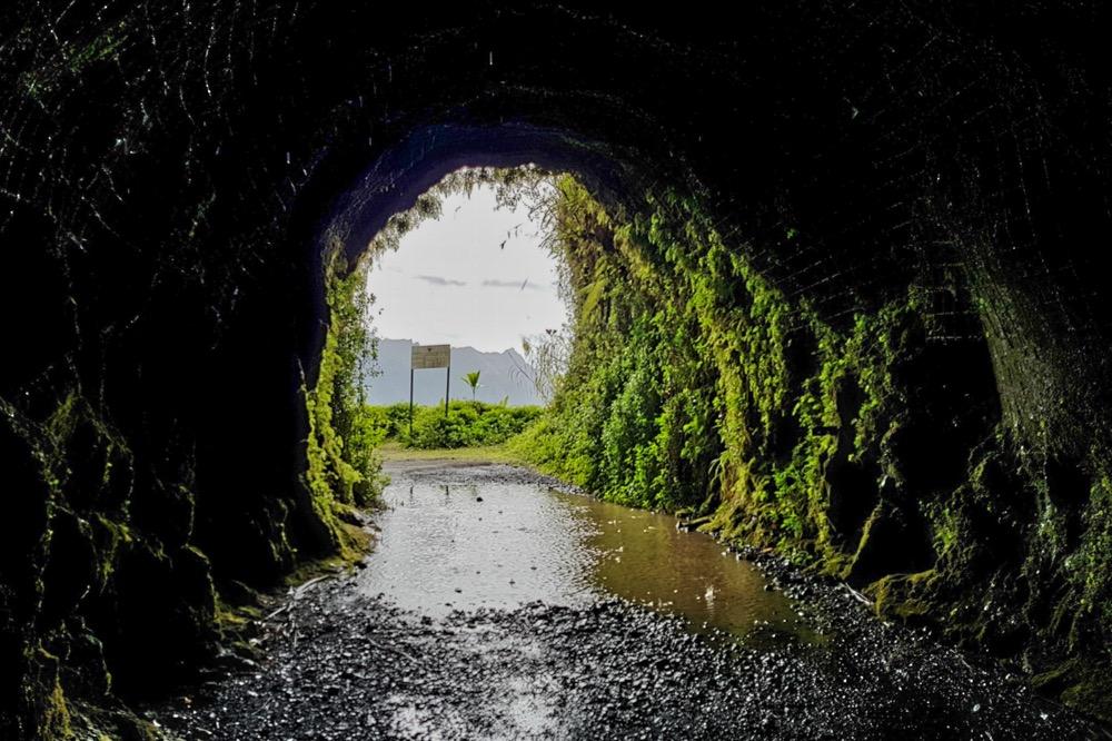 Le tunnel de la Papenoo. Photo Chantal Tahiti
