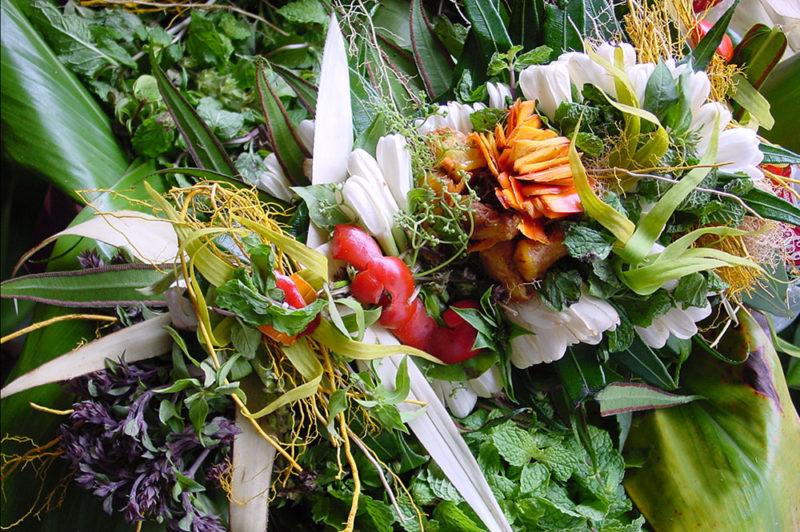 Umuhei, bouquet aphrodisiaque marquisien © Tahiti Heritage