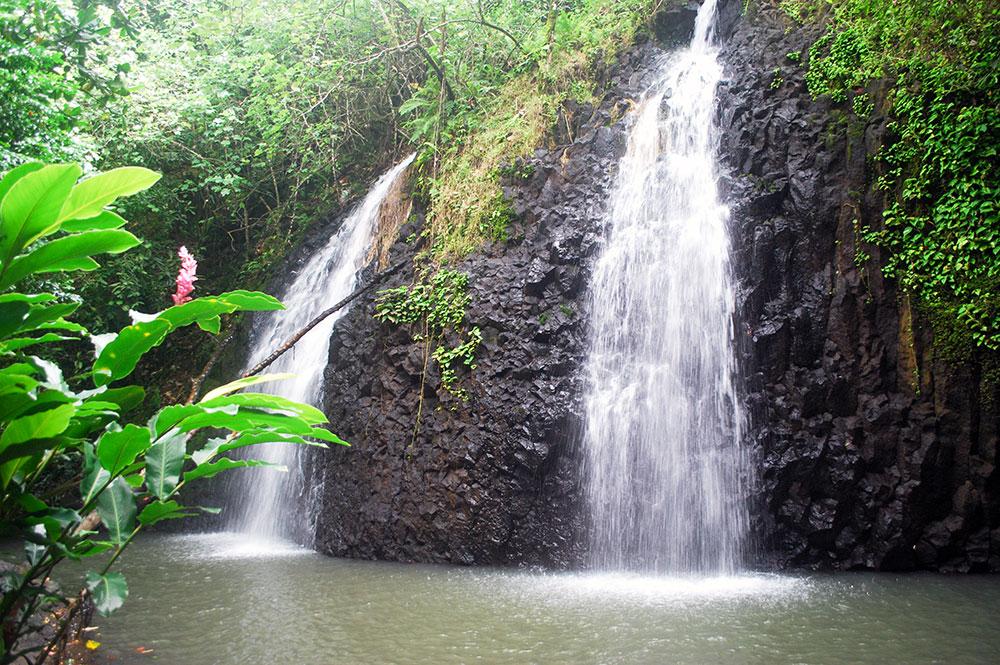 Cascade Vaihi à Faaone, Tahiti © Tahiti Heritage