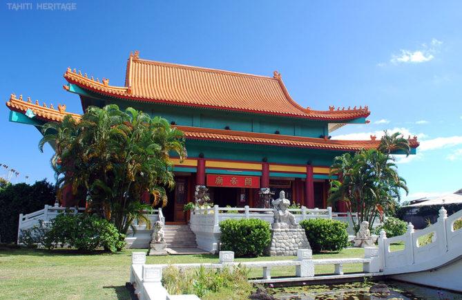 Temple chinois Kanti de Papeete, Tahiti