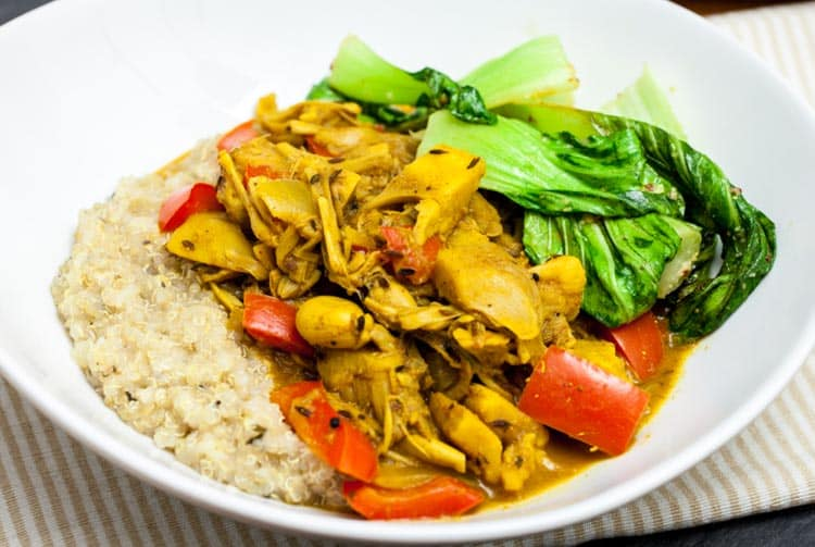 Curry de fruit de jacquier