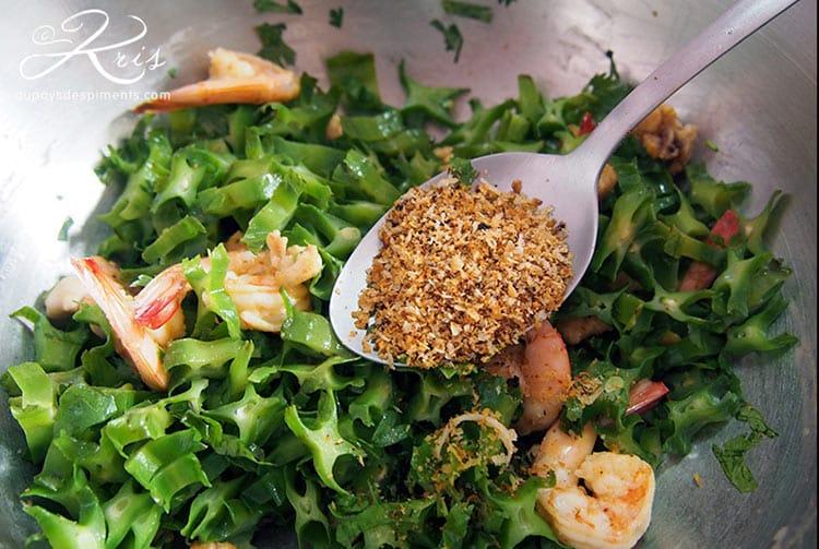 Salade de Haricot ailés. Aupaysdespiments