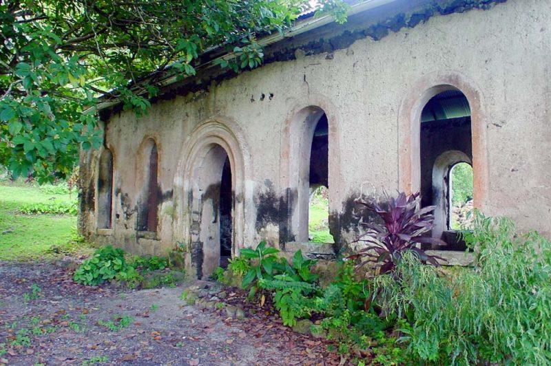 Chapelle St Agathe du couvent de Rouru, à Mangareva © Tahiti Heritage