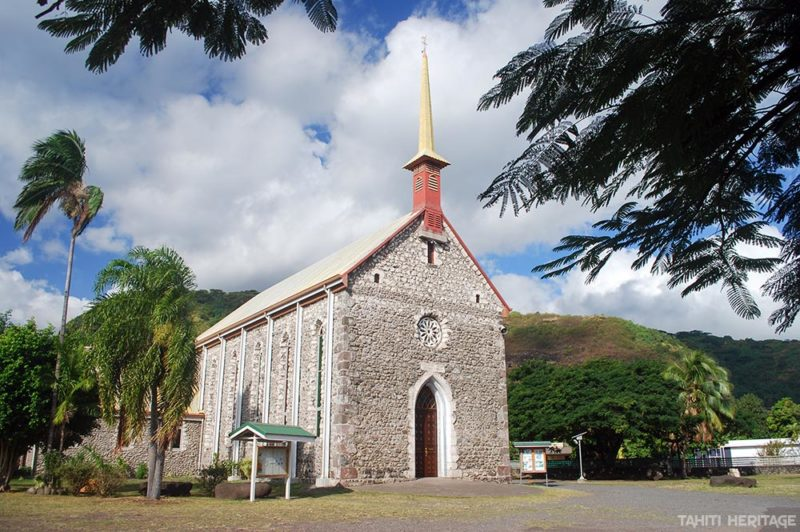 Eglise Saint-François-Xavier de Paea © Tahiti Heritage