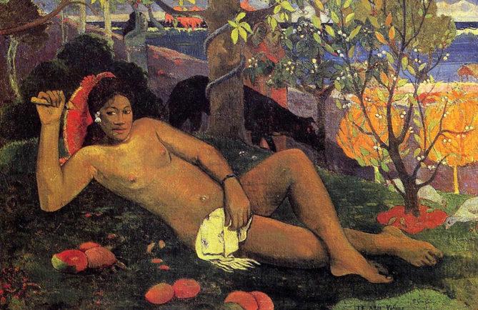 Paul Gauguin, Te arii vahine 1896. Musée de l'Ermitage