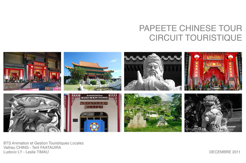 Papeete Chinese Tour 2011