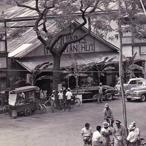 Le Quinn's dancing des années folles à Papeete en 1950