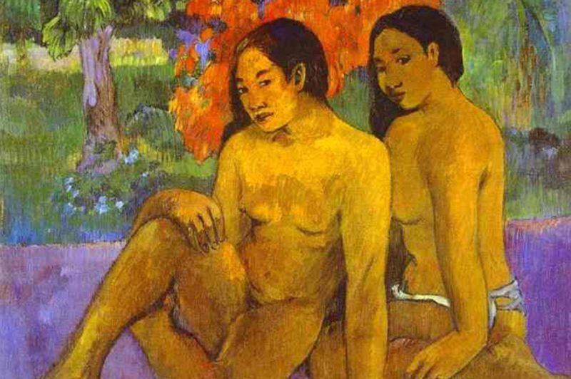 Paul Gauguin, Et l'or de leur corps. Musée d'Orsay Paris