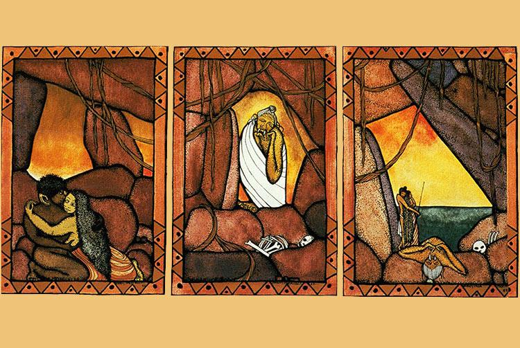 Légende de Tafa'i : 1. le tragique amour de Hina et de Monoihere