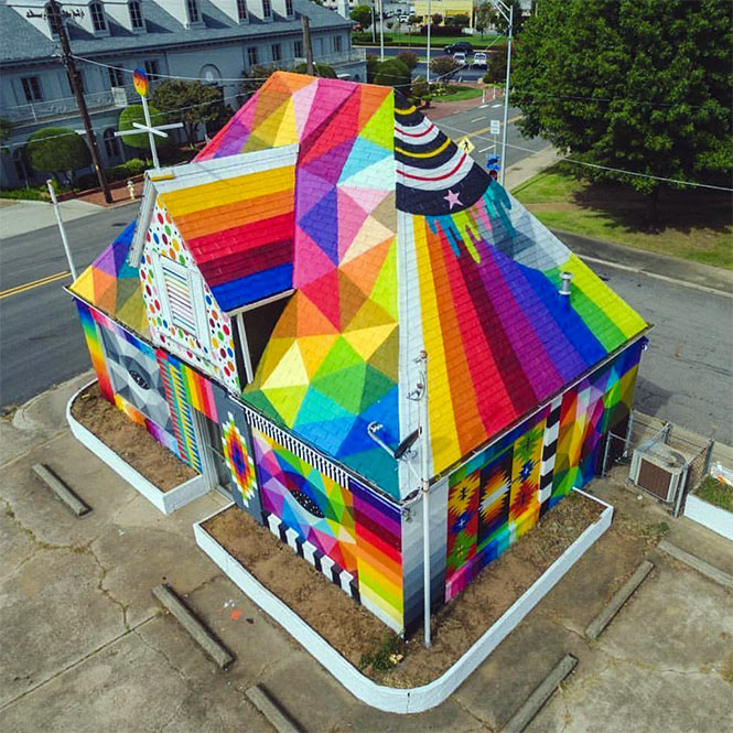 La chapelle universelle d'Okuda en Arkansas (USA)