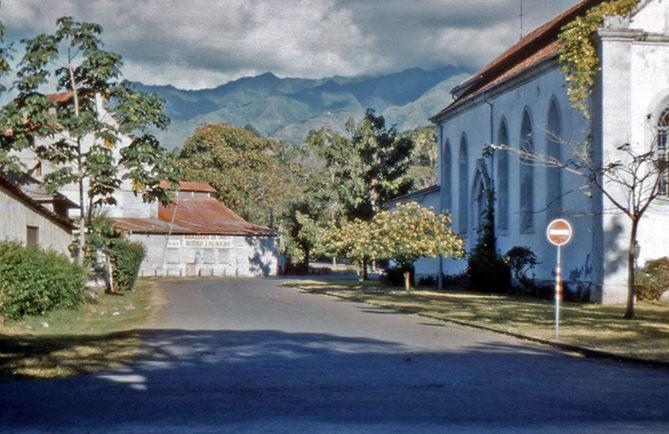 La Brasserie de Tahiti à Papeete en 1960