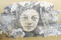 Street Art. La Polynésienne de Whils du collège La Mennais