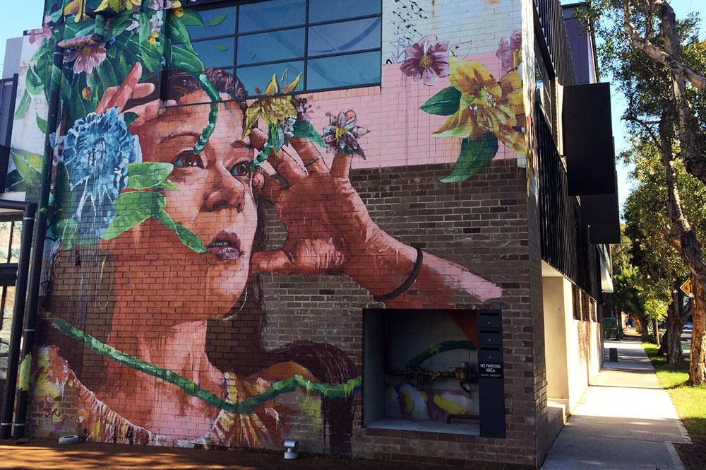 Street art, Fintan Magee Alexandria-Bowden-Street