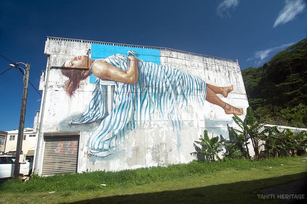 Street Art, Magee, à Uturoa
