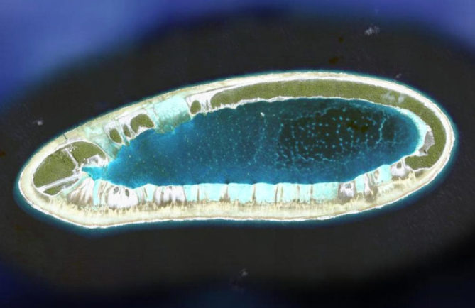 Atoll de Vahitahi, Tuamotu