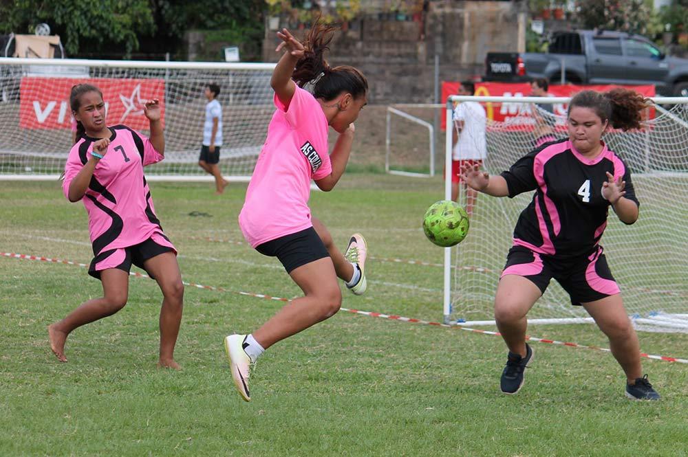Championnat scolaire de Foot féminin.