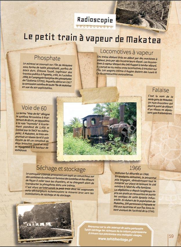 Honuatere 3 - Locomotive de Makatea