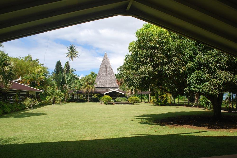 La tour du musée Gauguin