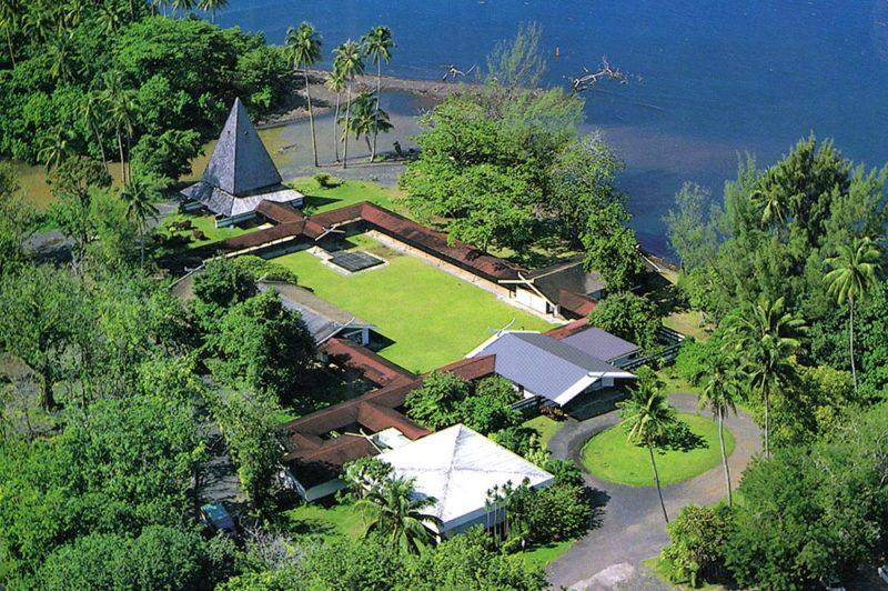 Le musée Gauguin de Papeari en 1964. Coll. R. Weimann
