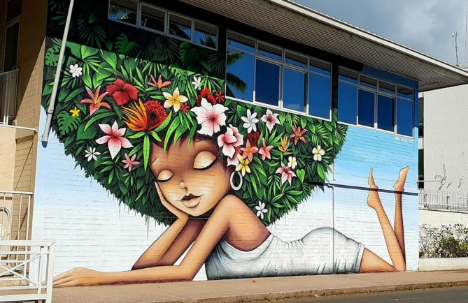 Vinie Graffiti. Photo Chantal Tahiti