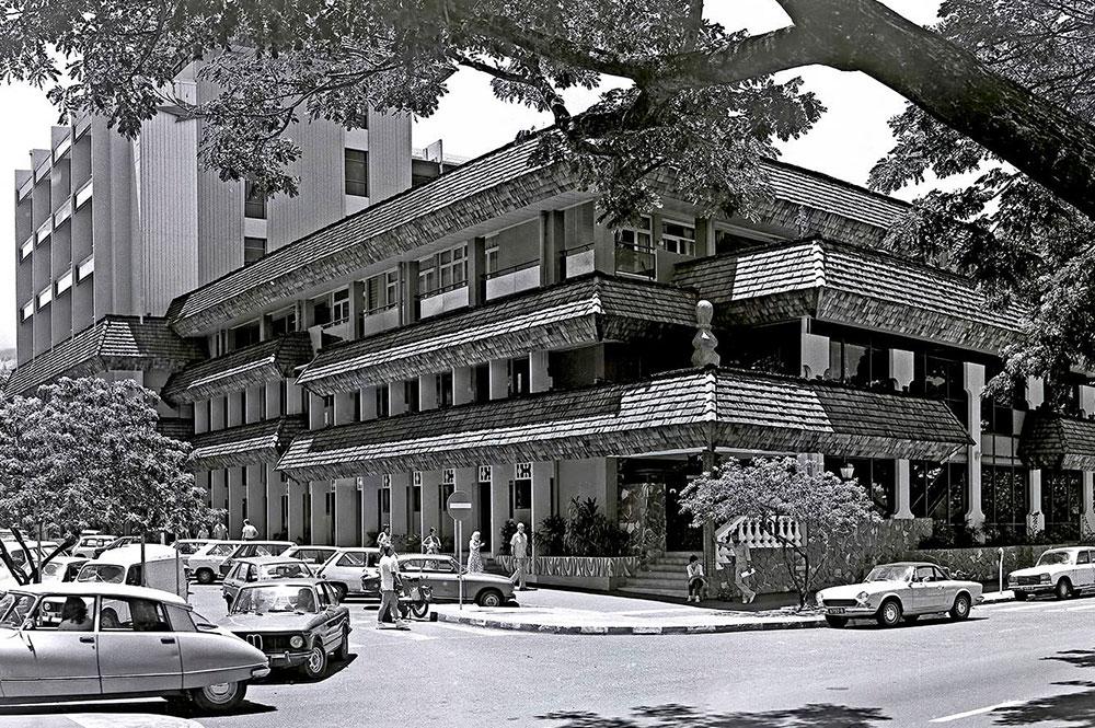 L'hôtel des Postes de Papeete en 1980