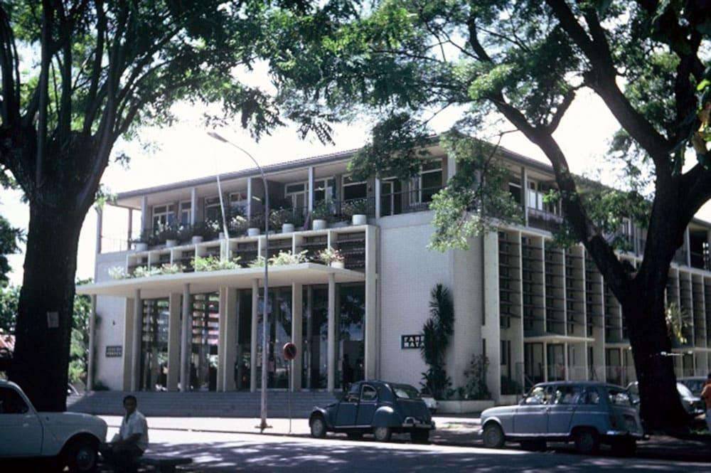 L'Hôtel des Postes de Papeete en 1967
