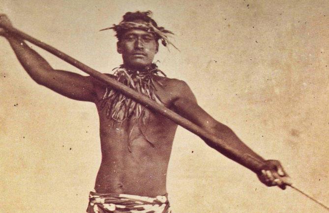 Légende de Faeta, guerrier de Bora Bora